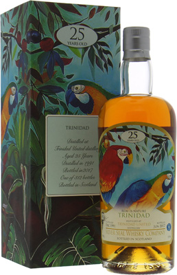 Silver Seal Trinidad 25 Years Old Cask:2458 51%Trinidad -