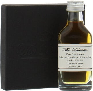 SAMPLE:19 Years Old Guadeloupe The Duchess Cask 22 54.9%