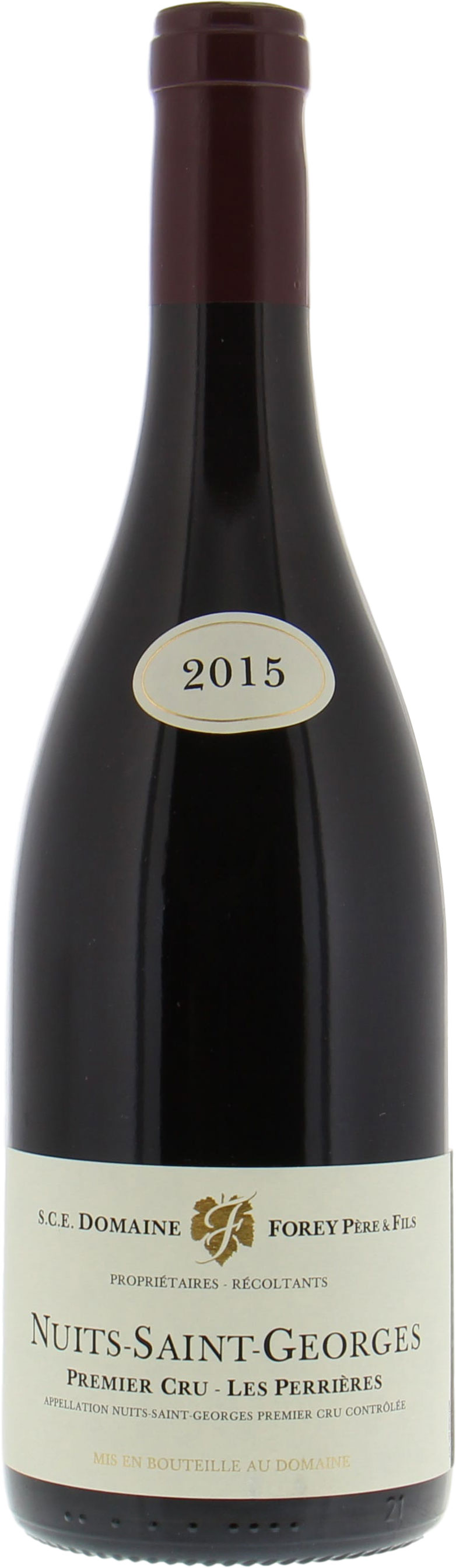 Domaine Forey Pere & Fils - Nuits St. Georges 1er Cru Perrieres 2015