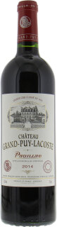 Chateau Grand Puy Lacoste - Chateau Grand Puy Lacoste 2014