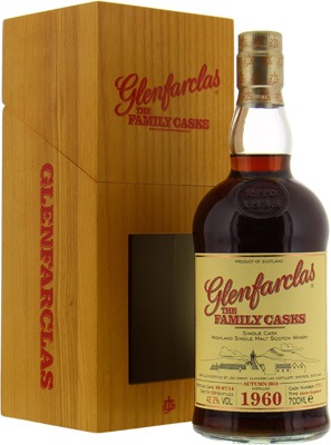Glenfarclas - 54 Years Old The Family Casks Release A14 Cask:1771 42.2% 1960