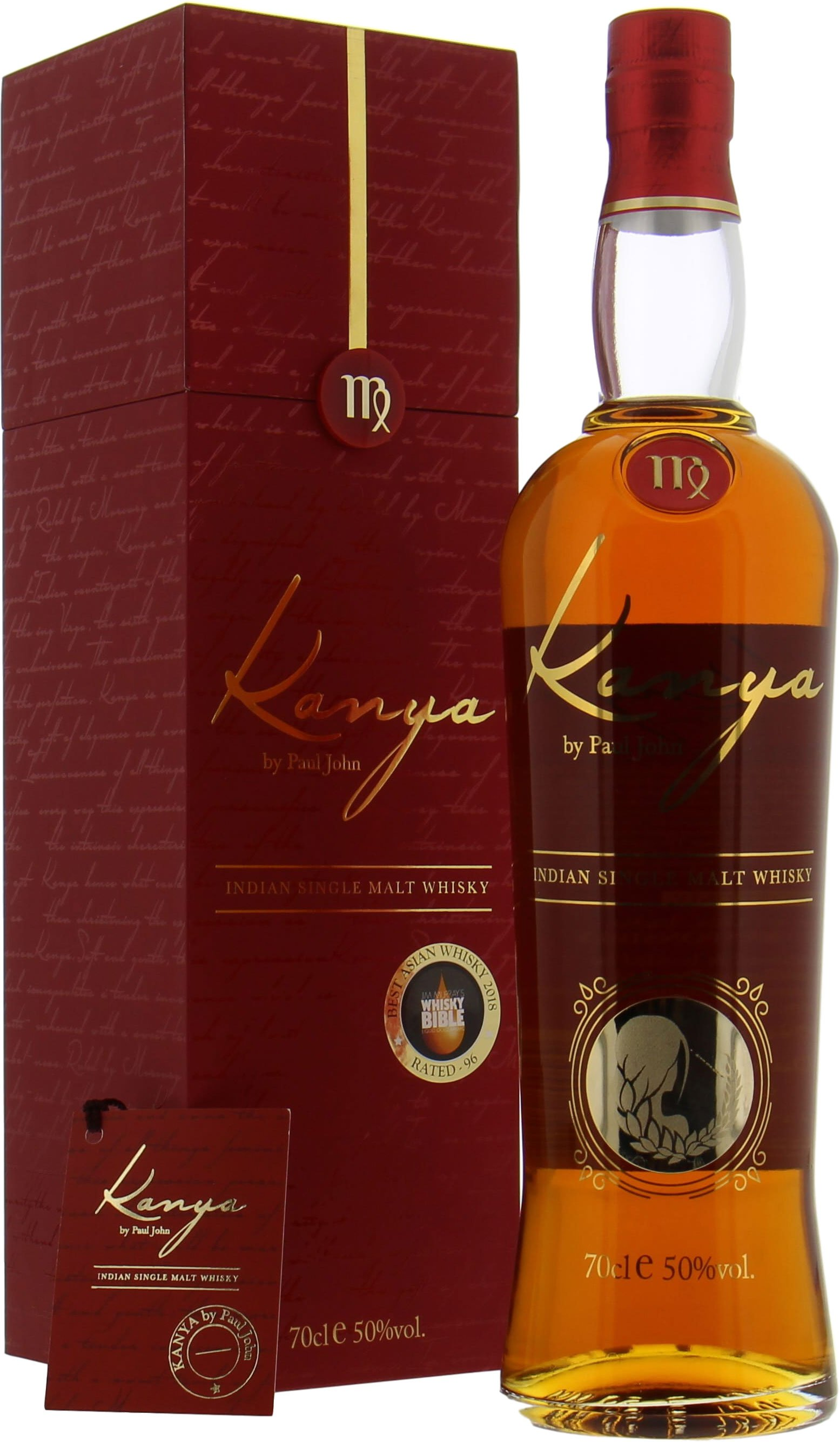 Kanya Jim Murray's Best Asian Whisky 2018 50%