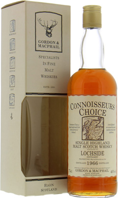 Lochside - 1966 Connoisseurs Choice Map Label 40% 1966