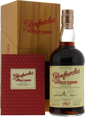 1967 The Family Casks S16 Cask:5113 55.6%Glenfarclas -