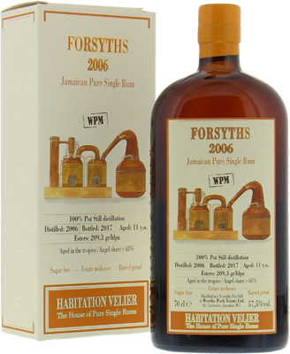 Worthy Park - Forsyths 11 Years Old Habitation Velier 57,5% 2006