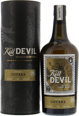 Enmore - 25 years Old Guyana Kill Devil 46% 1990