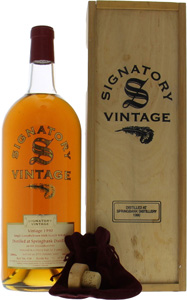 Springbank - 10 Years Old Signatory Vintage Cask:437 46% 1990