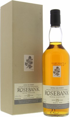 Rosebank - 25 Years Old Special Release 61.4% 1981