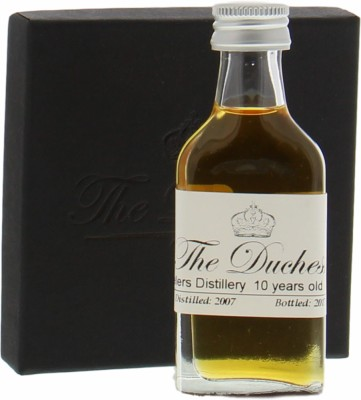 Travellers Distillery - SAMPLE: The Duchess & Eiling Lim Joint Bottling 10 Years Old Belize Cask:14 66,6% 2007