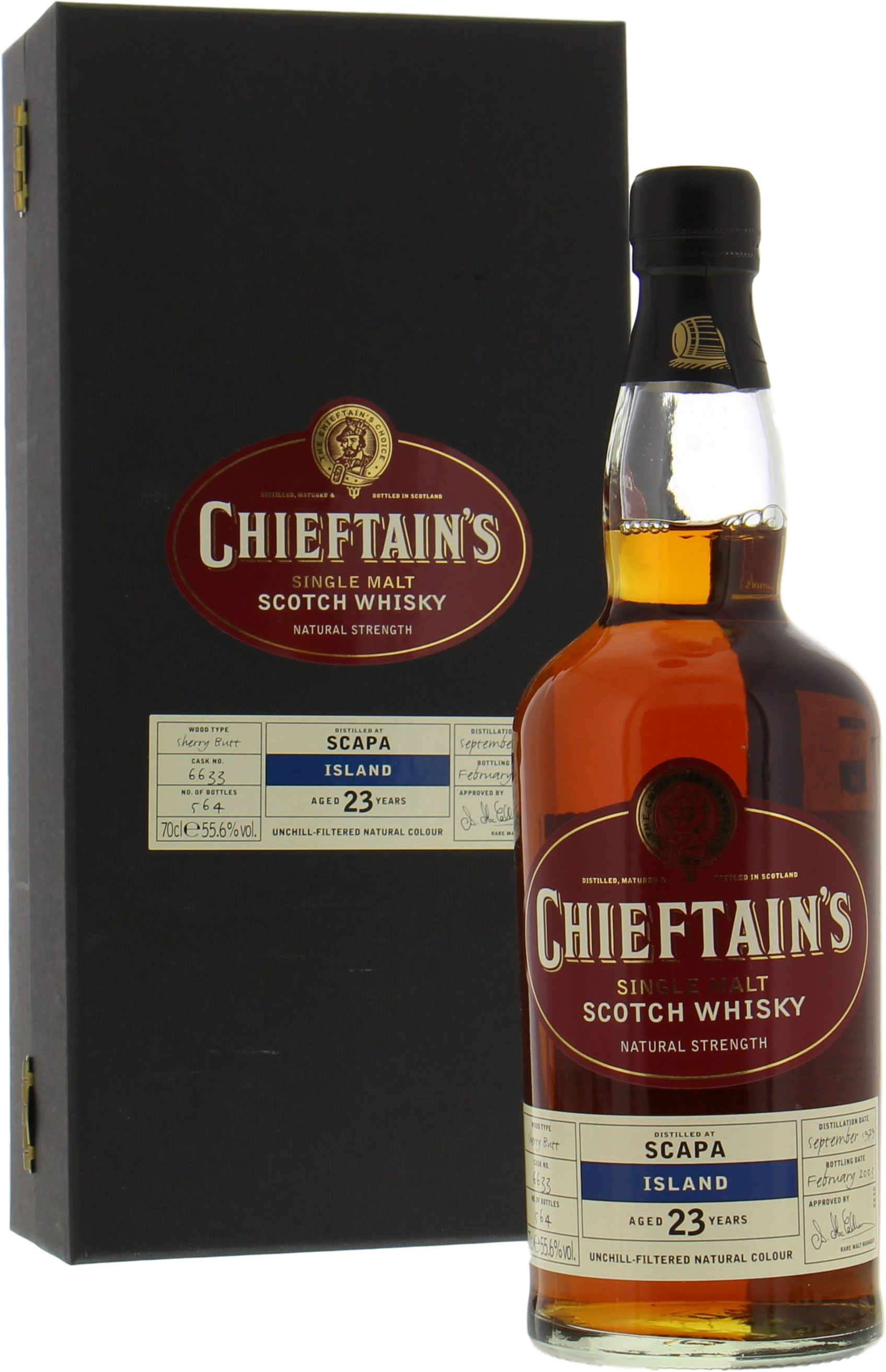 Scapa - 23 Years Chieftain's Choice Cask 6633 55.6%