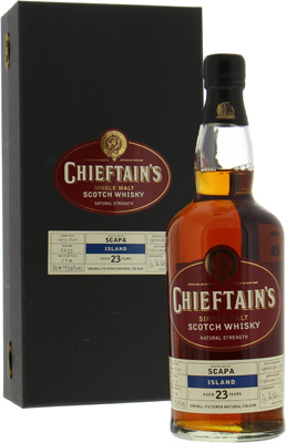 Scapa - 23 Years Chieftain's Choice Cask 6633 55.6% 1979