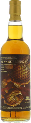 38 Years Speyside Region Ten Years TWA 43.4%The Whisky Agency -