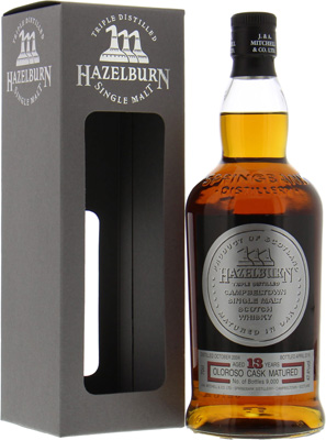 Hazelburn - 13 years Old Oloroso Cask Matured 47.4% 2003