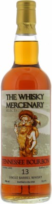 The Whisky Mercenary - 13 Years Old Tennessee Bourbon 51.5% 2003