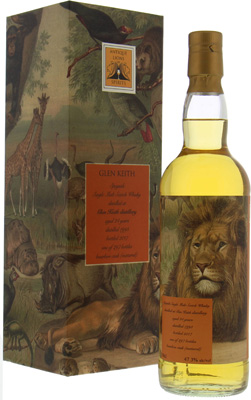 Glen Keith - 24 Years Old Antique Lions of Spirits Savannah Series 47.3% 1993