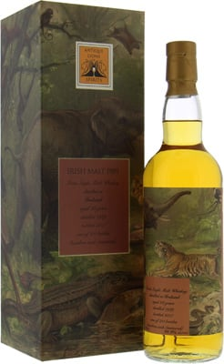 Irish Malt - 29 Years Old Antique Lions of Spirits Savannah Series 49.9% 1989