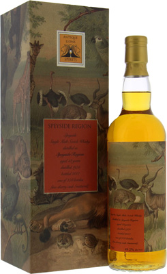 Speyside Region - 42 Years Old Antique Lions of Spirits Savannah Series 49.2% 1975