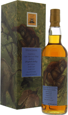 Springbank - 20 Years Old Antique Lions of Spirits Savannah Series 48% 1998