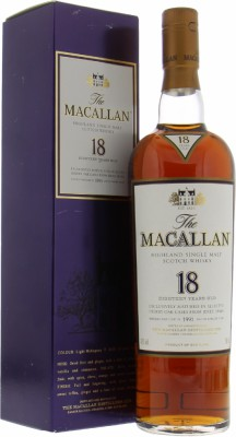 Macallan - 18 Years Old Distilled 1991 43% 1991
