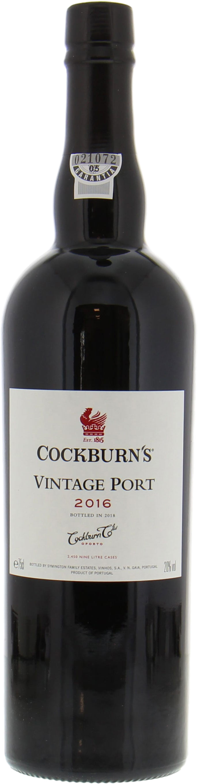 Cockburn - Vintage Port 2016
