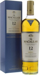 12 Years Old Fine Oak Triple Cask Matured 40%
