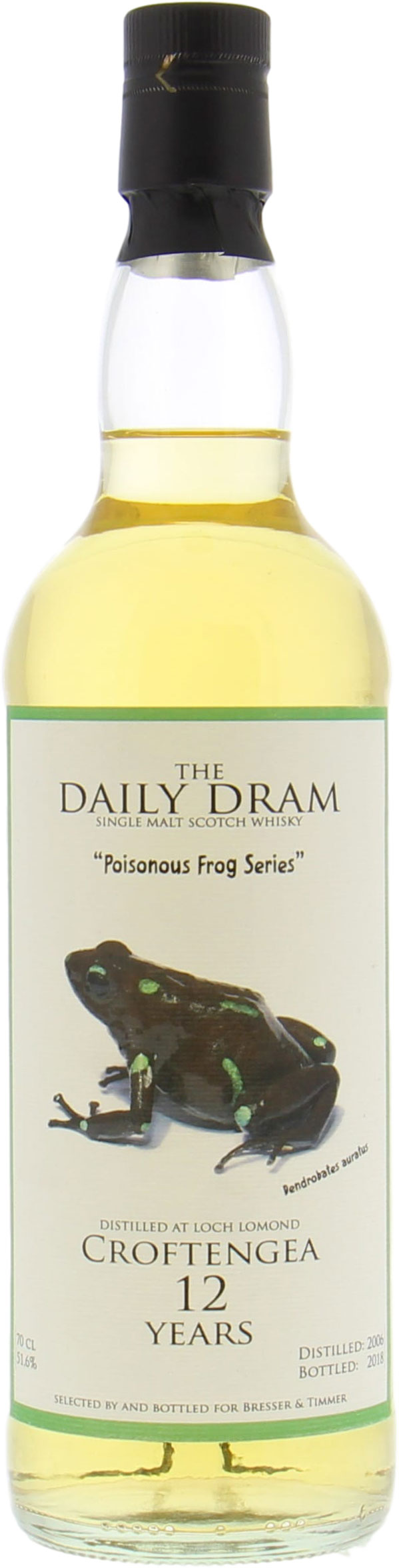 Croftengea - Daily Dram 12 Years Old Poisonous Frog 51.6% 2006