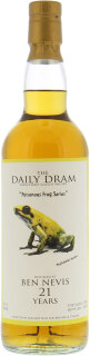 Daily Dram 21 Years Old Poisonous Frog 50.6%