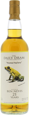 Ben Nevis - Daily Dram 21 Years Old Poisonous Frog 50.6% 1996