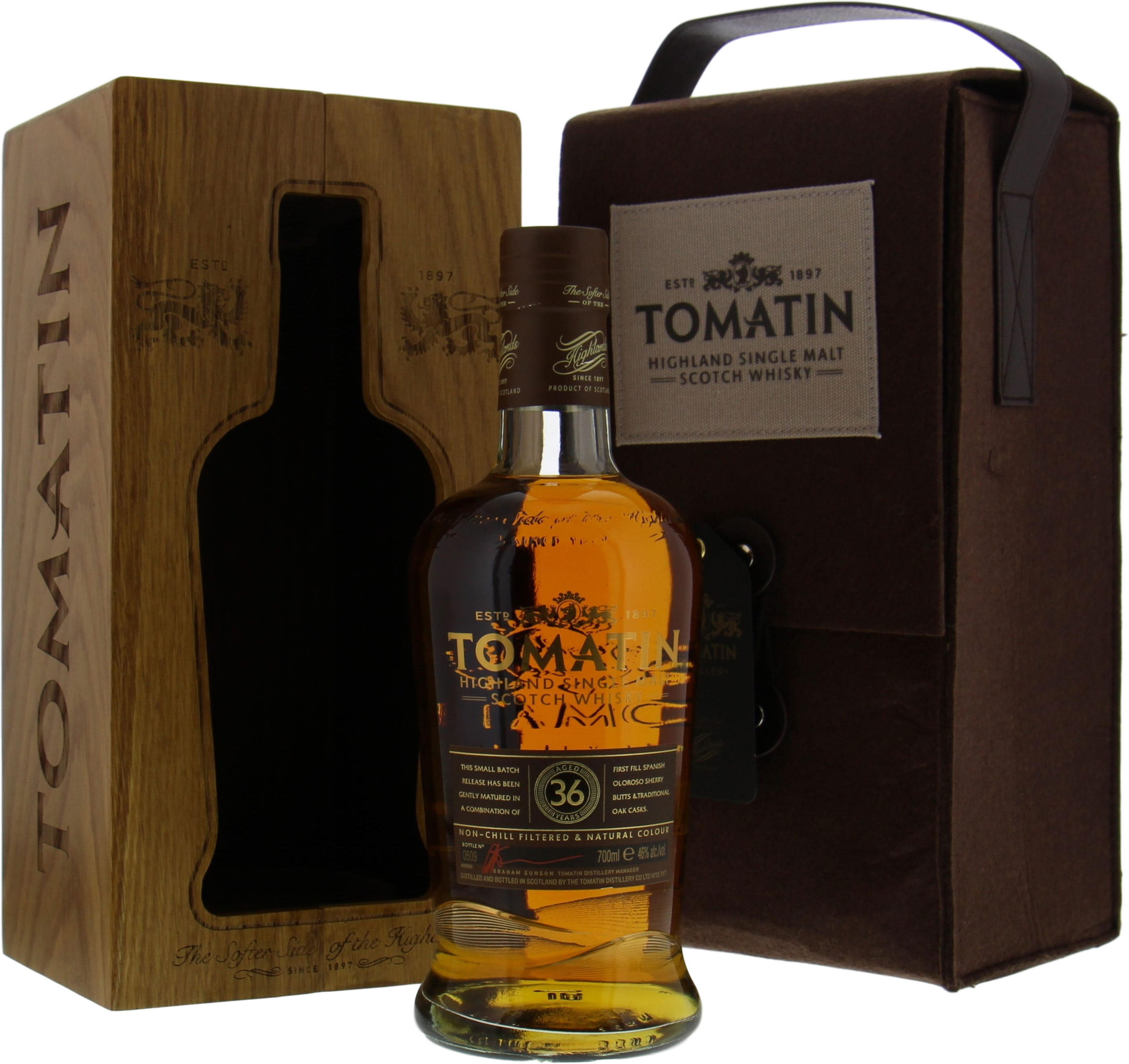 Tomatin - 36 Years Old Small Batch Release Batch 4 46% NV