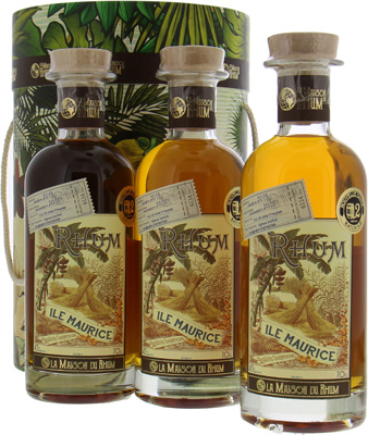 La maison Du Rhum - SET 5 Years Old Mauritius Batch 2 43% 2013