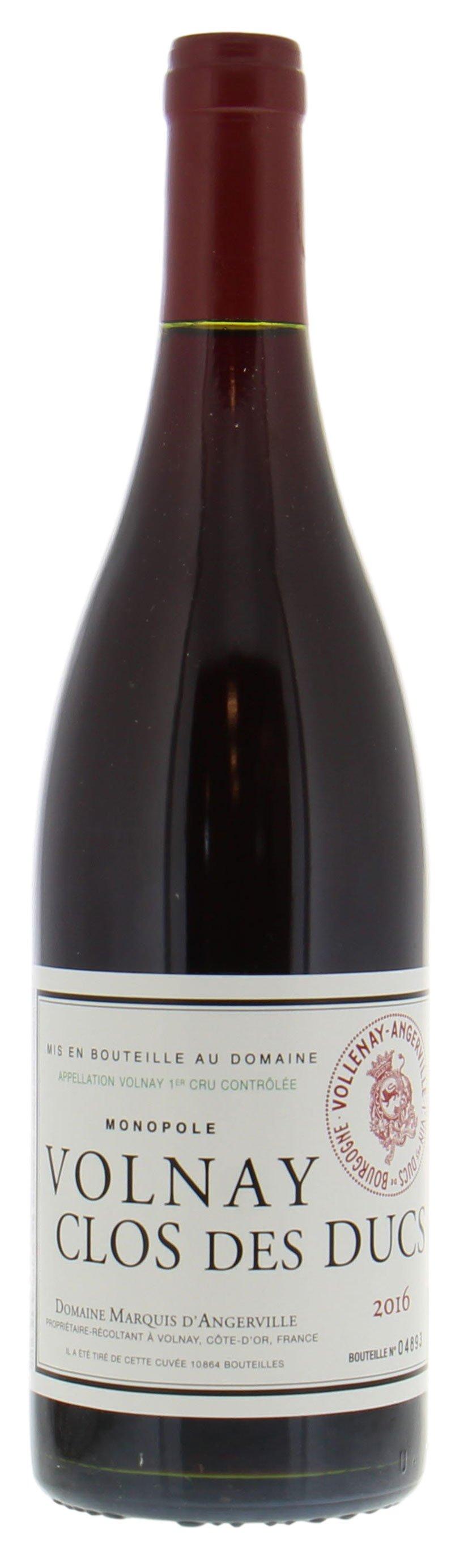 Volnay Clos Des Ducs 2016 Marquis D Angerville Buy Online Best Of Wines