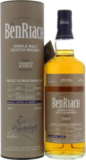 10 Years Old Batch 15 Single Cask 3071 58.3%