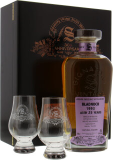 25 Years Old Signatory 30th Anniversary Cask 777 54.4%