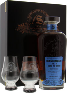 40 Years Old Signatory 30th Anniversary Cask 2587 47.8%40 Years Old Signatory 30th Anniversary Cask 2587 47.8%