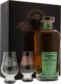 42 Years Old Signatory 30th Anniversary Cask 4283 42%