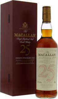 25 years old Anniversary Malt Red Box 43%