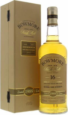 16 Years Old 1989 Bourbon Matured 51.8%Bowmore -