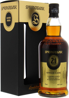 Springbank - Open Day 2018 21 Years Old 46% NV
