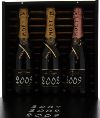 Grand Vintage Brut 2002-2009 Rose 2009Moet Chandon -
