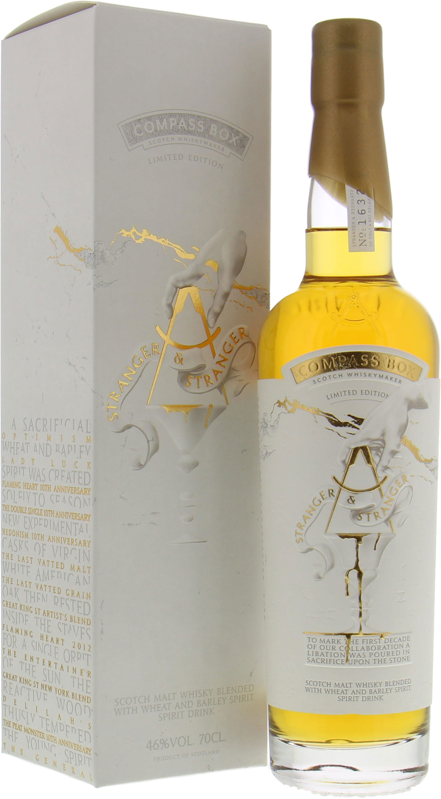 Compass Box - Stranger & Stranger Limited Edition 46% NV