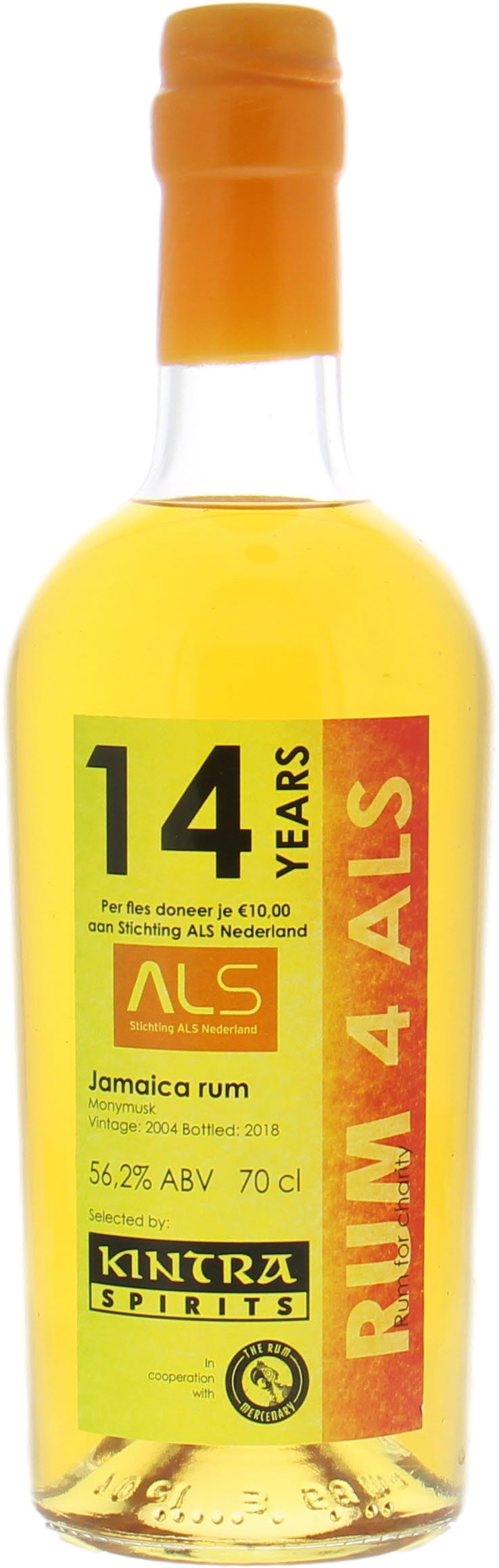 Monymusk - 14 Years Old Kintra for ALS muscle disease Charity 56.2% 2004