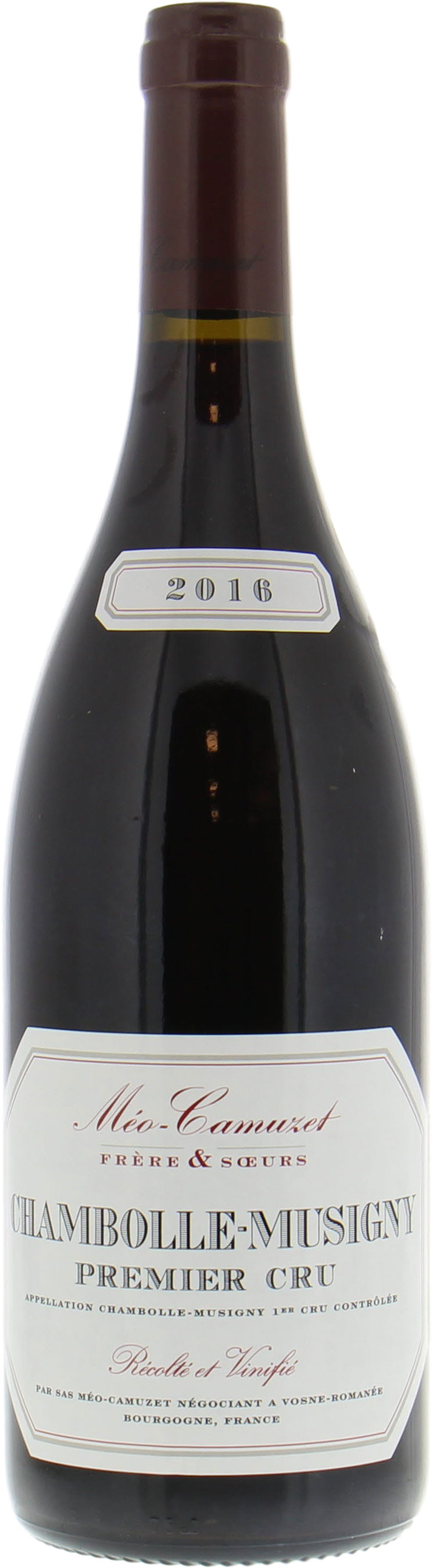 Meo Camuzet - Chambolle Musigny 1er cru 2016