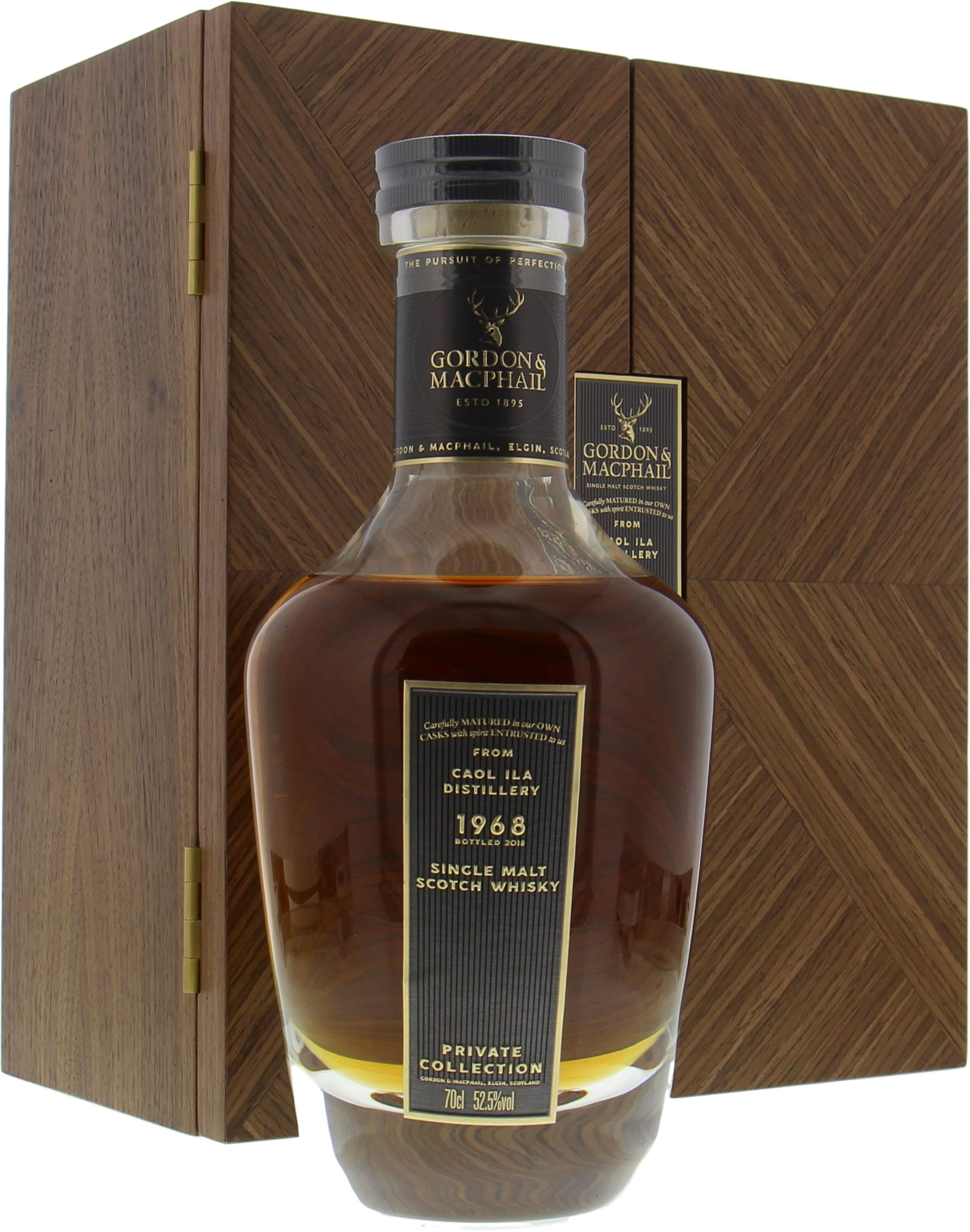 Caol Ila - 50 Years Old Gordon & MacPhail Private Collection Cask 4021901 52.5% 1968