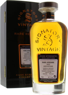 40 Years Old Rare Ayrshire Signatory Vintage Cask 3421 57.1%