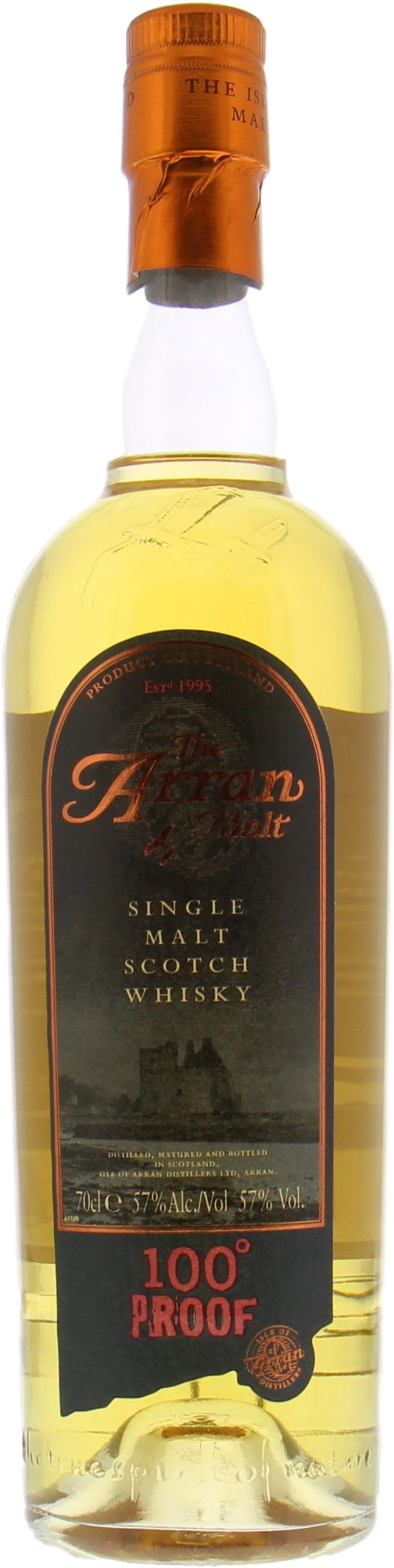Arran - 8 Years Old 100° Proof 57%