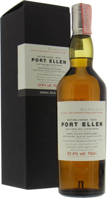 Port Ellen - 5th Annual Release 25 Years Old 57.4% 1979