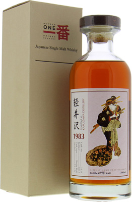 Karuizawa - 1983 Geisha Label 29 Years Old Cask 2233 59.4% 1983