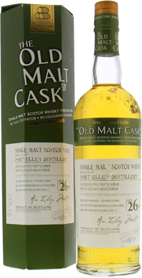 Port Ellen - 26 Years Old Malt Cask DL4808 50%  1982