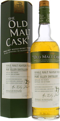 Port Ellen - 27 Years Old Malt Cask DL 6708 50% 1983