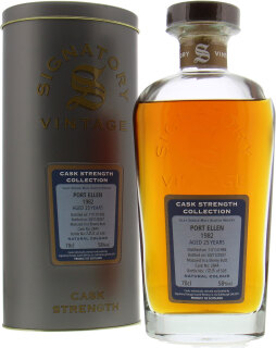 25 Years Old Signatory Vintage Cask 2844 58%